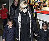 Slide Photo of Madonna With David and Mercy in London