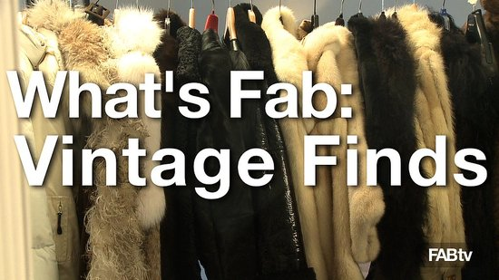 Quick Peek at One of a Kind Fashion Finds from Vintage Shop Pro
