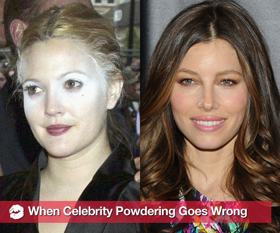 When Celebrity Powder Puffing Goes Wrong
