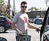 Slide Photo of Josh Duhamel at Hardware Store
