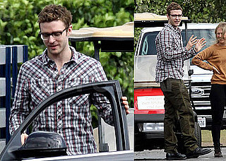 Photos of Justin Timberlake On the LA Set of Bad Teacher