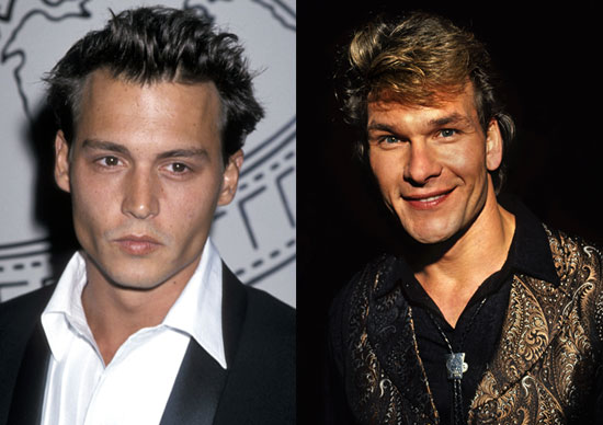 Johnny Depp vs. Patrick Swayze