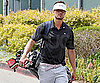 Slide Photo of Josh Duhamel on the Golf Course in LA