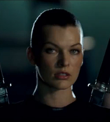 Video Trailer for Resident Evil Afterlife Starring Milla Jovovich and Ali Larter