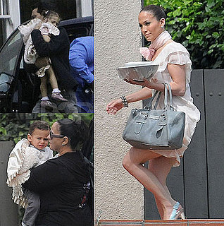 Photos of Jennifer Lopez With Twins Max and Emme On Easter in Pasadena