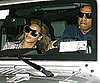 Slide Photo of Jay-Z and Beyonce After Chicago in New York City