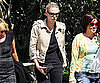 Slide Photo of Charlize Theron in LA
