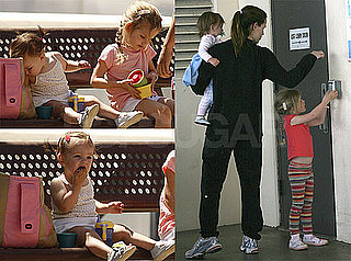 Photos of Jennifer Garner, Violet and Seraphina Affleck Together in Los Angeles