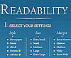 Read Pages Easier With Readability
