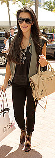 Kim Kardashian Carries Dash Shopping Bag in Miami