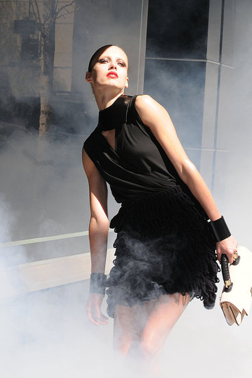 Emporio Armani, Like Chanel, Creating Fall 2010 Campaign Buzz by Shooting Publicly