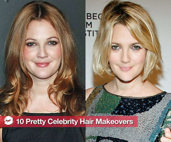 10 Great Celebrity Hair Makeovers
