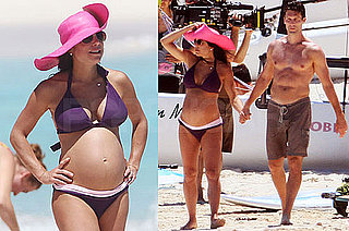Photos of Real Housewife of New York Bethenny Frankel in a Bikini With Jason Hoppy in St. Barts
