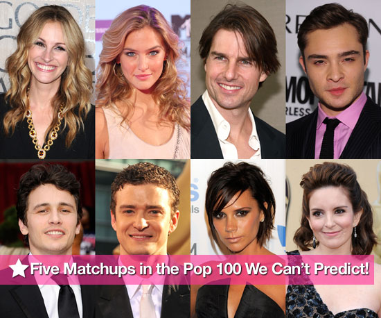 Five Matchups in the PopSugar 100 We Can't Predict!
