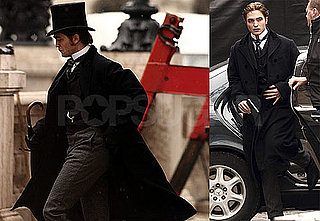 Photos of Robert Pattinson and Kristin Scott Thomas Filming Bel Ami in Budapest