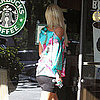 Guess Who's in a Tight Skirt at Starbucks?