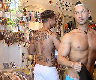 Slide Photo of Shirtless Pauly D and The Situation in Miami