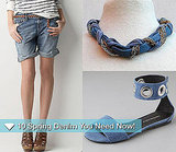 Pictures of Spring Denim Clothing and Accessories