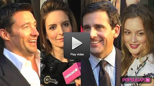 Video of Hugh Jackman, Tina Fey, Steve Carrel at the New York Premiere of Date Night