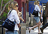 Photos of Ashley Olsen With a French Bulldog Puppy in NYC