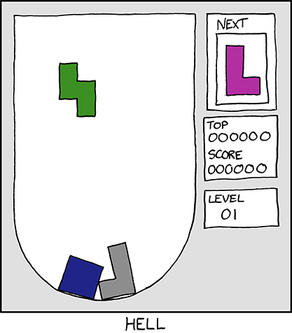 Funny Tetris Comic From xkcd