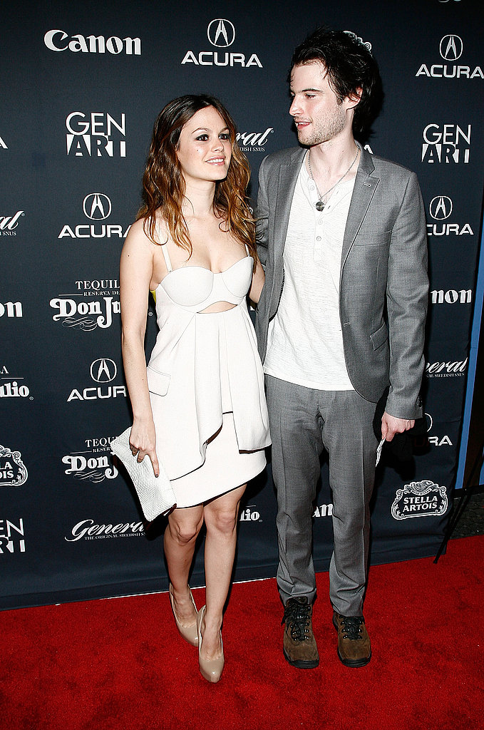 Pictures of Rachel Bilson and Tom Sturridge