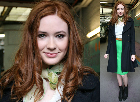 Watch A Video Clip of Doctor Who's Karen Gillan on This Morning Talking About Playing Amy Pond, and Matt Smith
