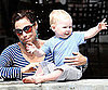 Slide Picture of Minnie Driver and Son Henry