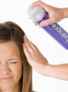 Woman Sets Hair on Fire With Hairspray