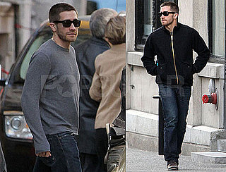 Pictures of Jake Gyllenhaal Getting Lunch With His Mom