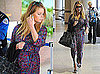 Pictures of Jessica Simpson Leaving LAX With Ken Paves
