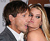 Slide Picture of Jessica Simpson and Ken Paves at Good Housekeeping Event