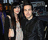 Slide Photo of Ashlee Simpson and Pete Wentz at LA Premiere