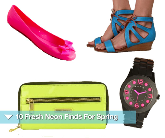 Neon Spring Trend Pieces