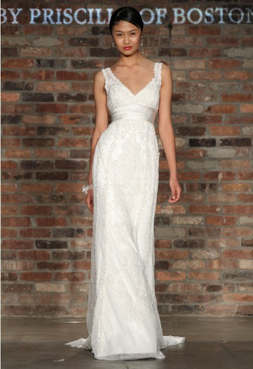 Spring &#039;11 Bridal: Decadent Oscar, Magestic Marchesa, Artsy Wang