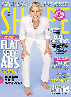 Ellen DeGeneres In Shape: May 2010 Cover