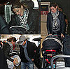 Pictures of Gisele Bundchen and Tom Brady Carrying Benjamin Brady At the Airport