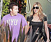 Slide Picture of Jennifer Aniston and Adam Sandler Filming Just Go With It