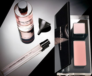 Narciso Rodriguez Creates Makeup Palette