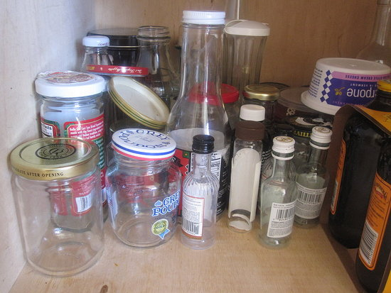 Reuse Old Glass Jars & Containers
