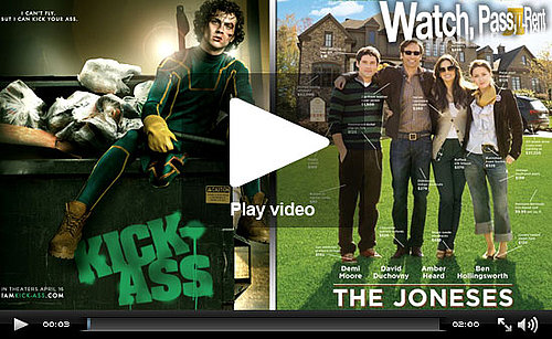 Video Reviews of The Joneses and Kick-Ass