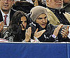 Slide Picture of Demi Moore and Ashton Kutcher Watching Yankees Game in NYC