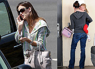Pictures of Jennifer Garner Talking on the Phone in LA