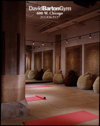 After taking yoga in this Moroccan-themed studio in Chicago, head over to the eucalyptus scented steam room.