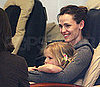 Slide Picture of Violet Affleck and Jennifer Garner Getting Birthday Pedicures