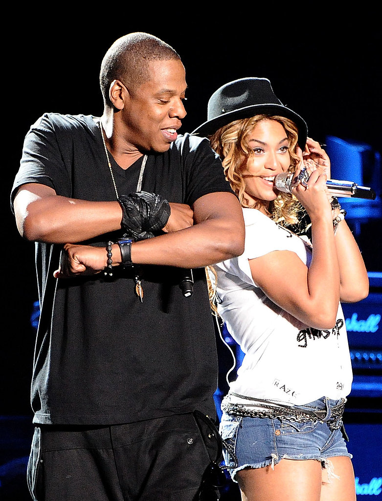 Pictures of Jay-Z and Beyonce at Coachella