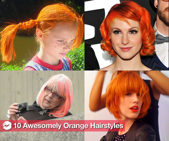 Darling Clementine: 10 Pages of Fun Orange Hair Color