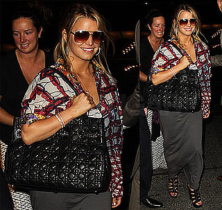 Jessica Simpson Lands in NYC After a Beautiful Visit to Tokyo
