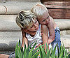 Slide Picture of Kingston and Zuma Rossdale Hugging