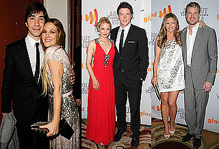 Pictures of Drew Barrymore, Adam Lambert and the Cast of Glee at the 2010 GLAAD Media Awards 2010-04-19 13:31:38